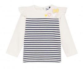 Детска блуза с дълъг ръкав 3Pommes 3P10072-19, за момиче на възраст 6 м. - 4 г.