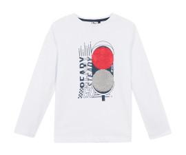 Детска блуза с дълъг ръкав 3Pommes 3P10045-01, за момче на възраст 3-12 г.