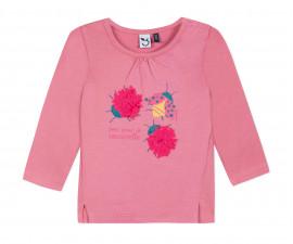 Детска блуза с дълъг ръкав 3Pommes 3P10092-34, за момиче на възраст 6 м. - 4 г.