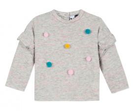 Детски пуловер 3Pommes 3P15002-260, за момиче на възраст 6 м. - 4 г.