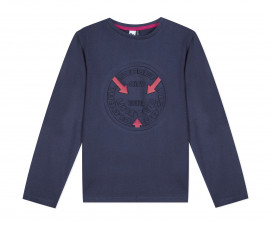 Детска блуза с дълъг ръкав 3Pommes 3P10135-449, за момче на възраст 3-12 г.