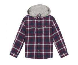 Детска риза с дълъг ръкав и качулка 3Pommes 3P13005-39, за момче на възраст 3-12 г.