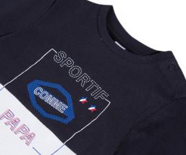 Детска блуза с дълъг ръкав 3Pommes 3P10063-01, за момче на възраст 1-4 г.