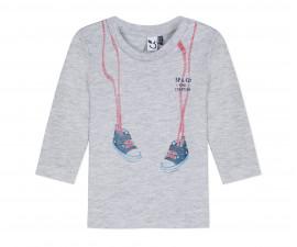 Детска блуза с дълъг ръкав 3Pommes 3P10993-22, за момче на възраст 6 м. - 4 г.