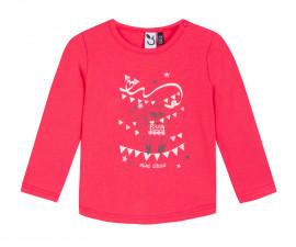 Детска блуза с дълъг ръкав 3Pommes 3P10002-323, за момиче на възраст 6 м. - 4 г.