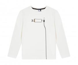 Детска блуза с дълъг ръкав 3Pommes 3P10005-19, за момче на възраст 3-12 г.