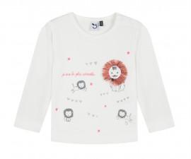 Детска блуза с дълъг ръкав 3Pommes 3P10022-19, за момиче на възраст 6 м. - 3 г.