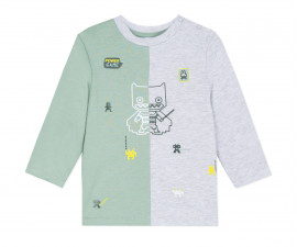 Детска блуза с дълъг ръкав 3Pommes 3P10083-522, за момче на възраст 6 м. - 3 г.