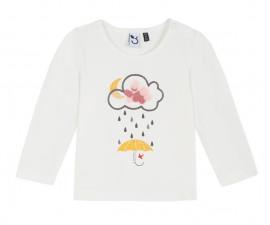 Детска блуза c дълъг ръкав 3Pommes 3P10032-19, за момиче на възраст 6 м.-4 г.