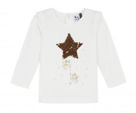 Детска блуза c дълъг ръкав 3Pommes 3P10042-19, за момиче на възраст 6 м.-4 г.