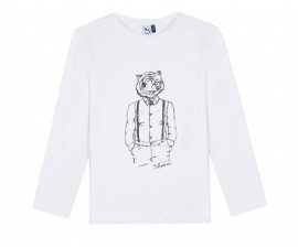 Детска блуза c дълъг ръкав 3Pommes 3P10085-01, за момче на възраст 3-12 г.