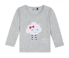 Детска блуза c дълъг ръкав 3Pommes 3P10112-22, за момиче на възраст 6 м.-3 г.
