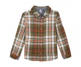 Детска риза каре c дълъг ръкав 3Pommes 3P12015-56, за момче на възраст 3-12 г.