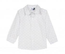 Детска риза c дълъг ръкав 3Pommes 3P12033-01, за момче на възраст 6 м.-4 г.