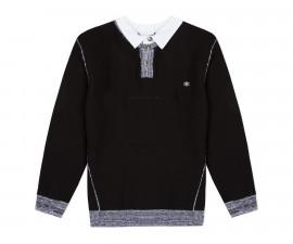 Детски пуловер с яка 3Pommes 3P18025-02, за момче на възраст 3-12 г.