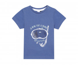 Детска тениска с къс ръкав 3Pommes 3Q10003-480, за момче на възраст 6 м.-4 г.