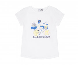Детска тениска с къс ръкав 3Pommes 3Q10004-01, за момиче на възраст 4-14 г.