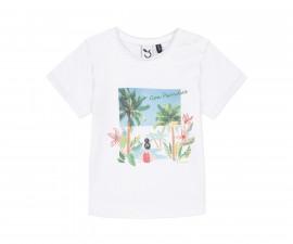 Детска тениска с къс ръкав 3Pommes 3Q10012-01, за момиче на възраст 6 м.-4 г.