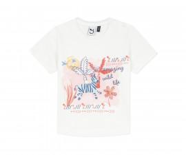 Детска тениска с къс ръкав 3Pommes 3Q10012-19, за момиче на възраст 6 м.-4 г.
