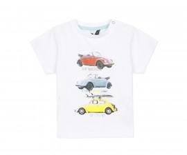 Детска тениска с къс ръкав 3Pommes 3Q10013-01, за момче на възраст 6 м.-4 г.