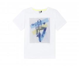 Детска тениска с къс ръкав 3Pommes 3Q10015-01, за момче на възраст 4-14 г.