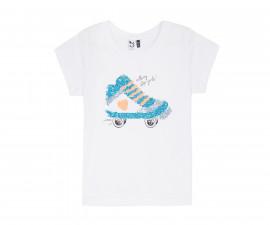 Детска тениска с къс ръкав 3Pommes 3Q10034-01, за момиче на възраст 4-14 г.