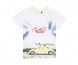 Детска тениска с къс ръкав 3Pommes 3Q10063-73, за момче на възраст 6 м.-4 г.