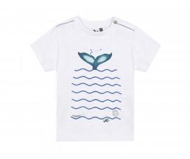 Детска тениска с къс ръкав 3Pommes 3Q10073-01, за момче на възраст 6 м.-4 г.