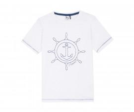 Детска тениска с къс ръкав 3Pommes 3Q10075-01, за момче на възраст 4-14 г.