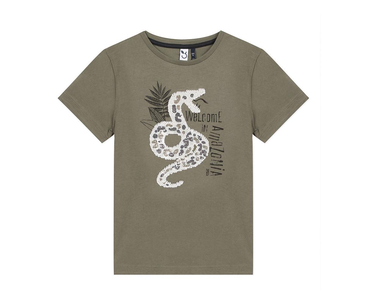 Детска тениска с къс ръкав 3Pommes 3Q10085-56, за момче на възраст 4-14 г.