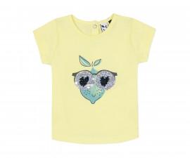 Детска тениска с къс ръкав 3Pommes 3Q10122-722, за момиче на възраст 6 м.-4 г.