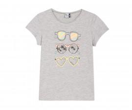 Детска тениска с къс ръкав 3Pommes 3Q10994-240, за момиче на възраст 7-8 г.