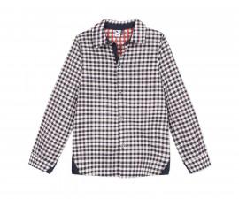 Детска риза с дълъг ръкав 3Pommes 3Q12005-04, за момче на възраст 4-14 г.