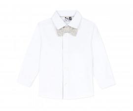 Детска риза с дълъг ръкав 3Pommes 3Q12013-01, за момче на възраст 6 м.-4 г.