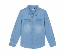 Детска дънкова риза с дълъг ръкав 3Pommes 3Q12015-41, за момче на възраст 4-14 г.