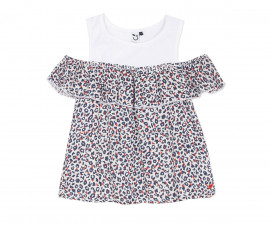 Детска блуза с къс ръкав 3Pommes 3Q19024-01, за момиче на възраст 4-14 г.