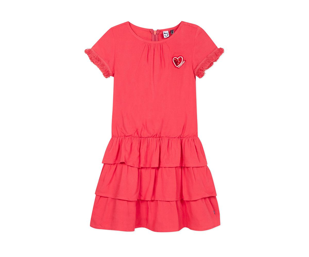 Детска рокля с къс ръкав 3Pommes 3Q30074-033, за възраст 4-14 г.