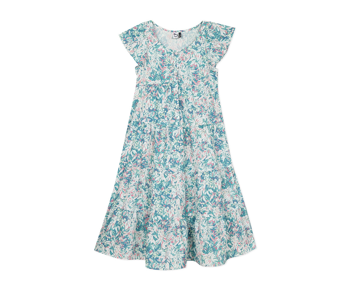 Детска рокля с къс ръкав 3Pommes 3Q30114-55, за възраст 4-14 г.