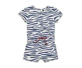 Детски гащеризон къс, с къс ръкав 3Pommes 3Q33012-460, за момиче на възраст 6 м.-4 г.