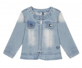 Детско дънково яке с цип 3Pommes 3Q41012-40, за момиче на възраст 6 м.-4 г.