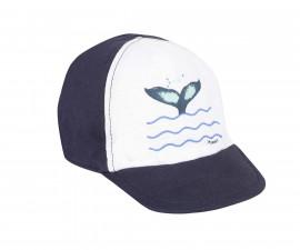 Детска шапка с козирка 3Pommes 3Q90013-49, за момче на възраст размер: 44-50