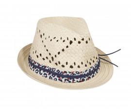 Детска шапка с периферия 3Pommes 3Q90014-449, за момиче на възраст размер: 52-56