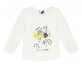 Детска блуза с дълъг ръкав 3Pommes 3R10002-19, момиче, 6 м.-3 г.
