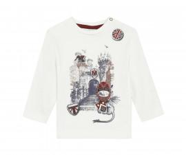 Детскa тениска с дълъг ръкав 3Pommes 3R10013-19, момче, 6 м.-3 г.