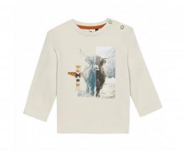 Детскa тениска с дълъг ръкав 3Pommes 3R10013-622, момче, 9 м.-4 г.