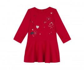 Детска рокля с дълъг ръкав 3Pommes 3R30112-392, 6 м.-3 г.