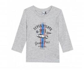 Детскa тениска с дълъг ръкав 3Pommes 3R10993-22, момче, 9 м.-4 г.