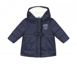 Детско зимно яке с качулка 3Pommes 3R42012-49, момиче, 6 м.-3 г.