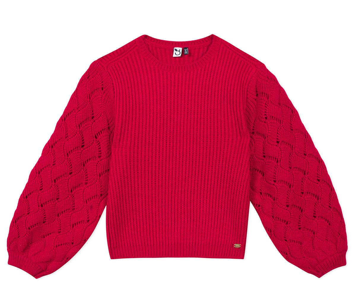 Детски пуловер 3Pommes 3R18044-392, момиче, 3-10 г.