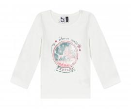 Детска блуза с дълъг ръкав 3Pommes 3R10062-19, момиче, 6 м.-3 г.
